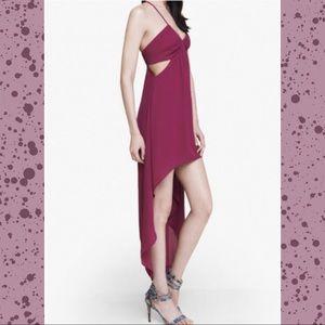 Express • High Low Side Cutout Sleeveless Dress